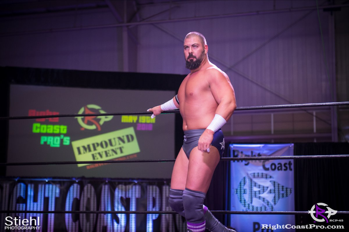 Olympus Championship 7 Impound RCP45 RightCoastPro Wrestling Delaware
