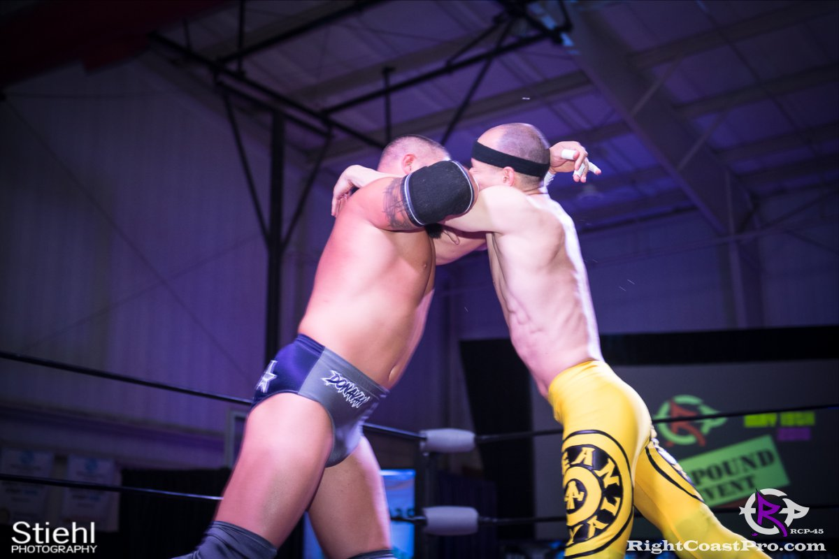 Olympus Championship 8 Impound RCP45 RightCoastPro Wrestling Delaware