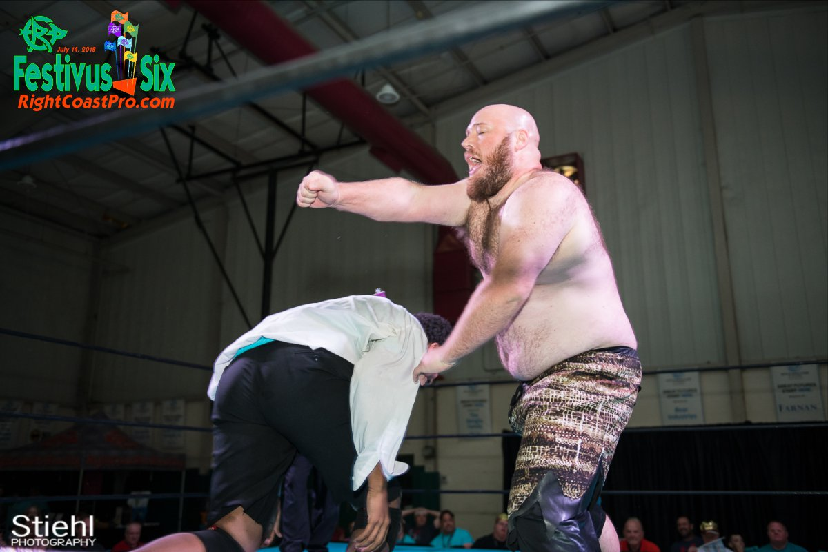 Savage Dexter 11 RightCoastPro Wrestling Delaware Festivus Six