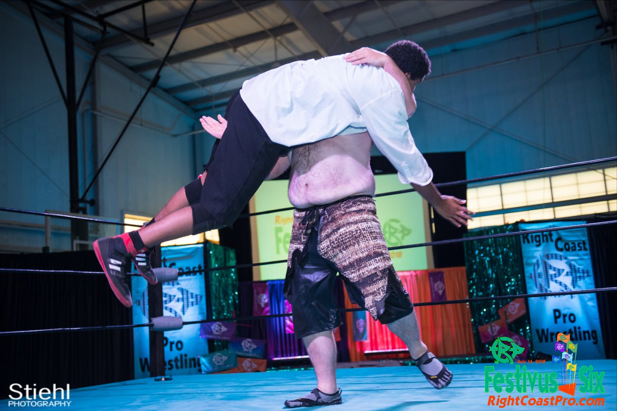 Savage Dexter 19 RightCoastPro Wrestling Delaware Festivus Six