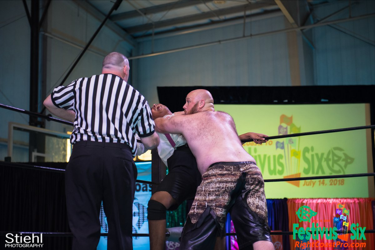 Savage Dexter 6 RightCoastPro Wrestling Delaware Festivus Six