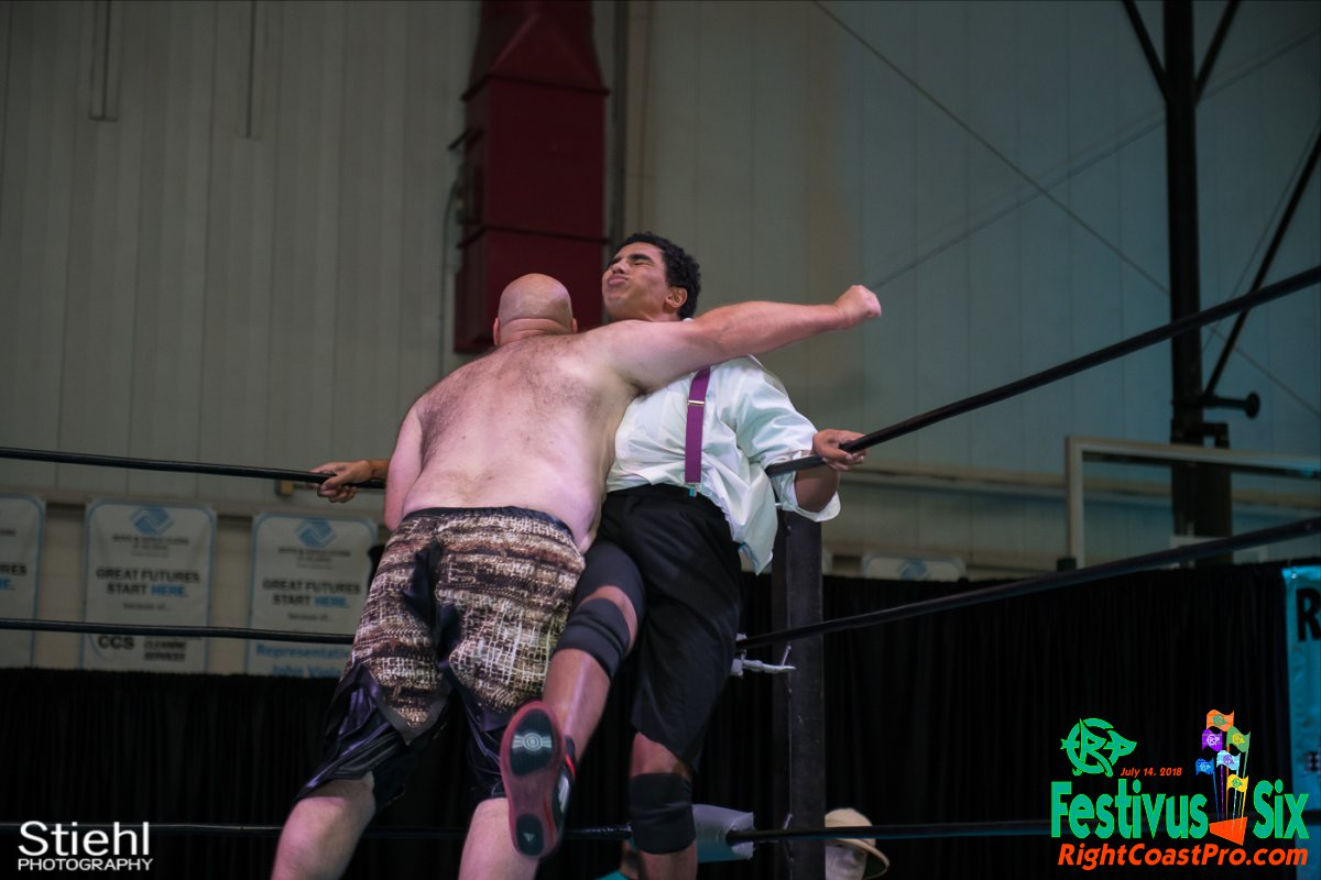 Savage Dexter 8 RightCoastPro Wrestling Delaware Festivus Six