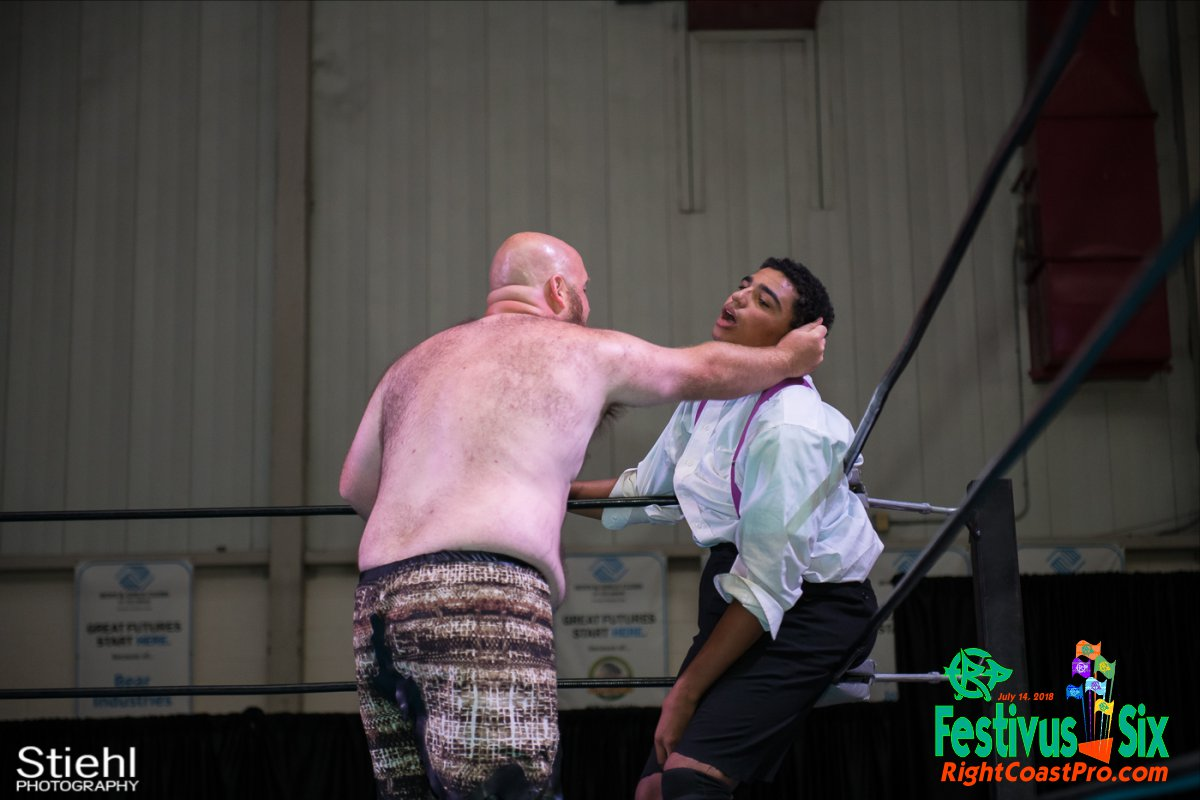 Savage Dexter 9 RightCoastPro Wrestling Delaware Festivus Six
