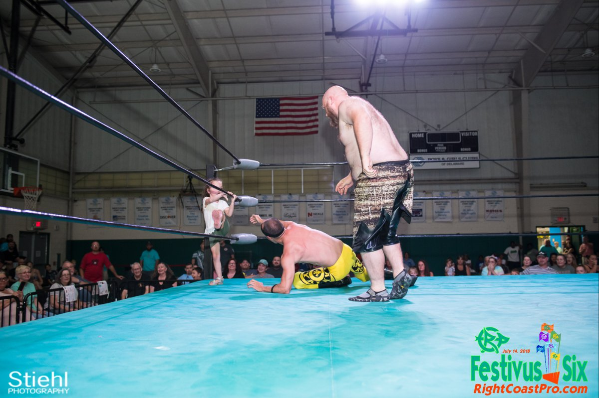 WCW ROYAL 33 RightCoastPro Wrestling Delaware Festivus Six