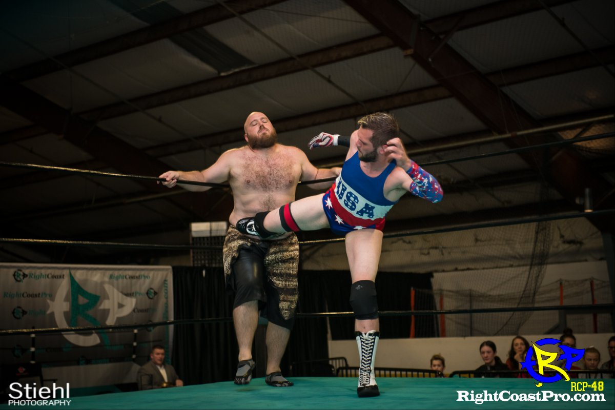 6 Quest Savage RCP48 RightCoastProWrestlingDelaware