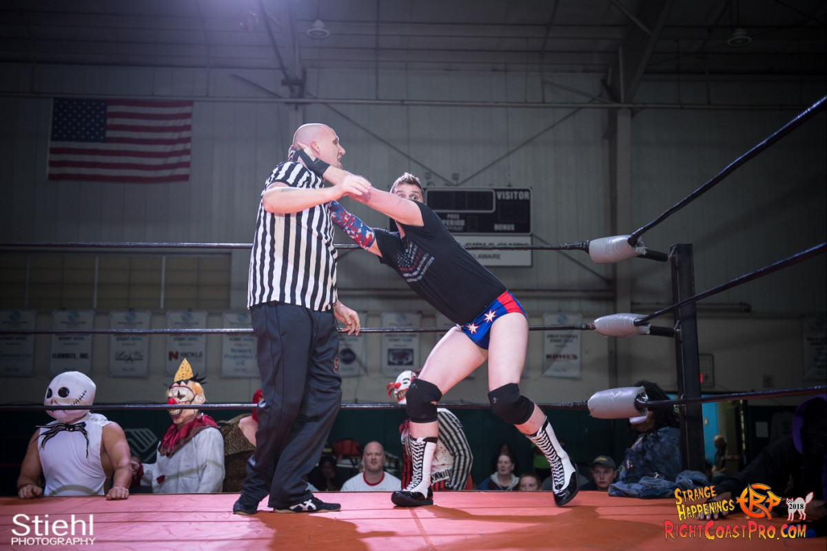 10 beat freaks RCP49 RIGHTCOASTPRO WRESTLING DELAWARE