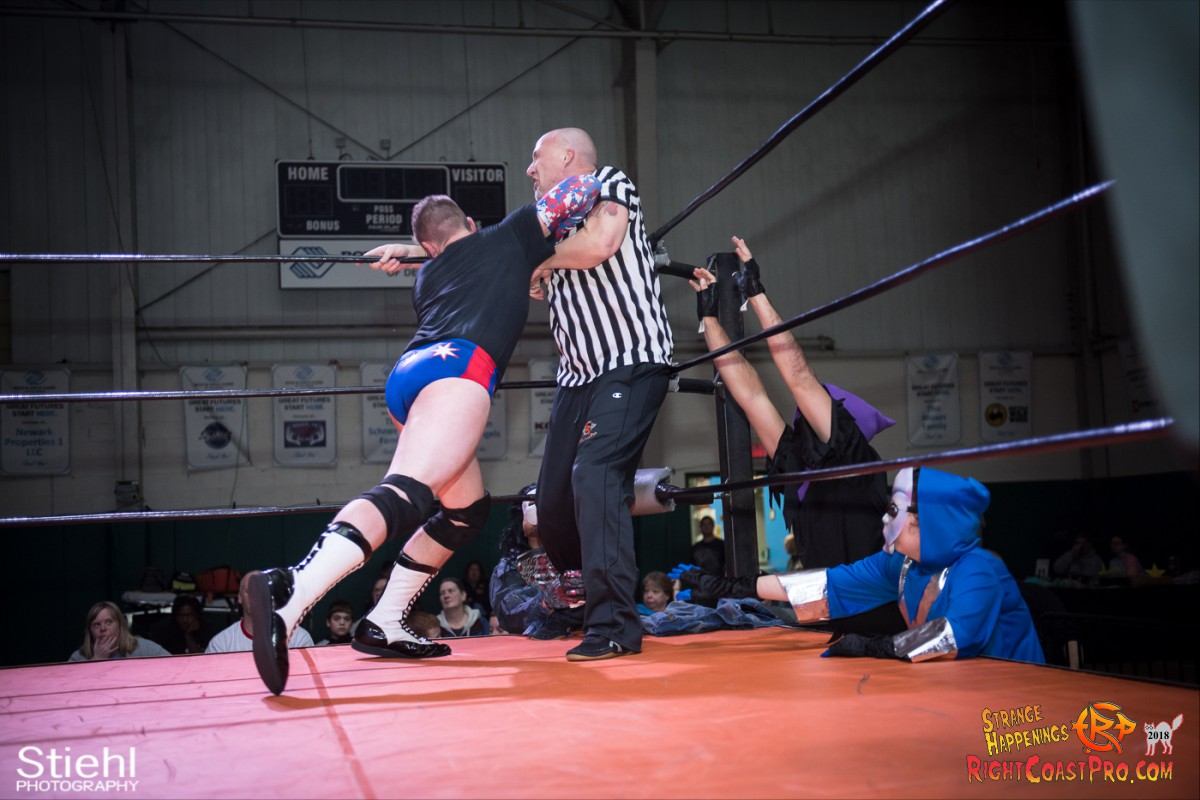 12 beat freaks RCP49 RIGHTCOASTPRO WRESTLING DELAWARE