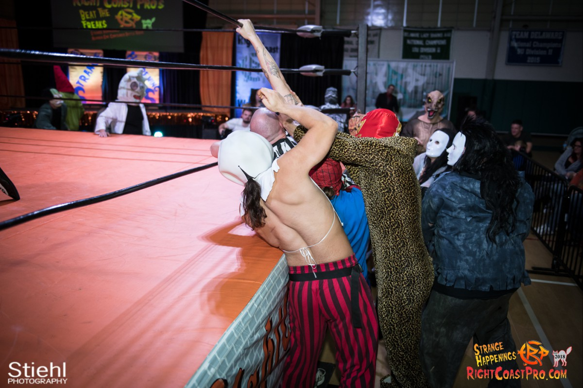 15 beat freaks RCP49 RIGHTCOASTPRO WRESTLING DELAWARE