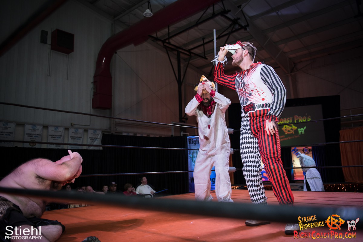 19 beat freaks RCP49 RIGHTCOASTPRO WRESTLING DELAWARE