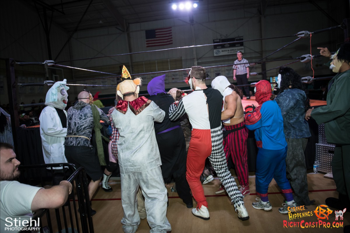 3 beat freaks RCP49 RIGHTCOASTPRO WRESTLING DELAWARE