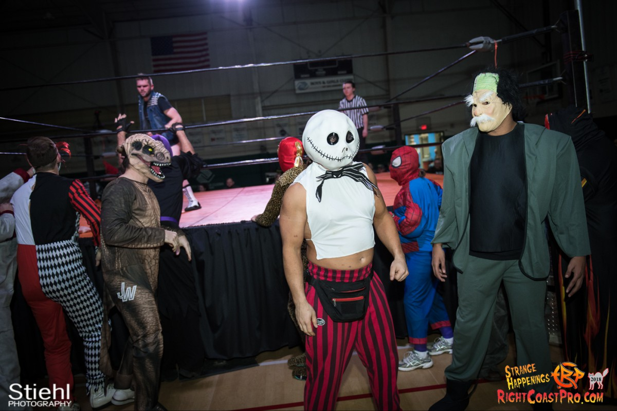 4 beat freaks RCP49 RIGHTCOASTPRO WRESTLING DELAWARE