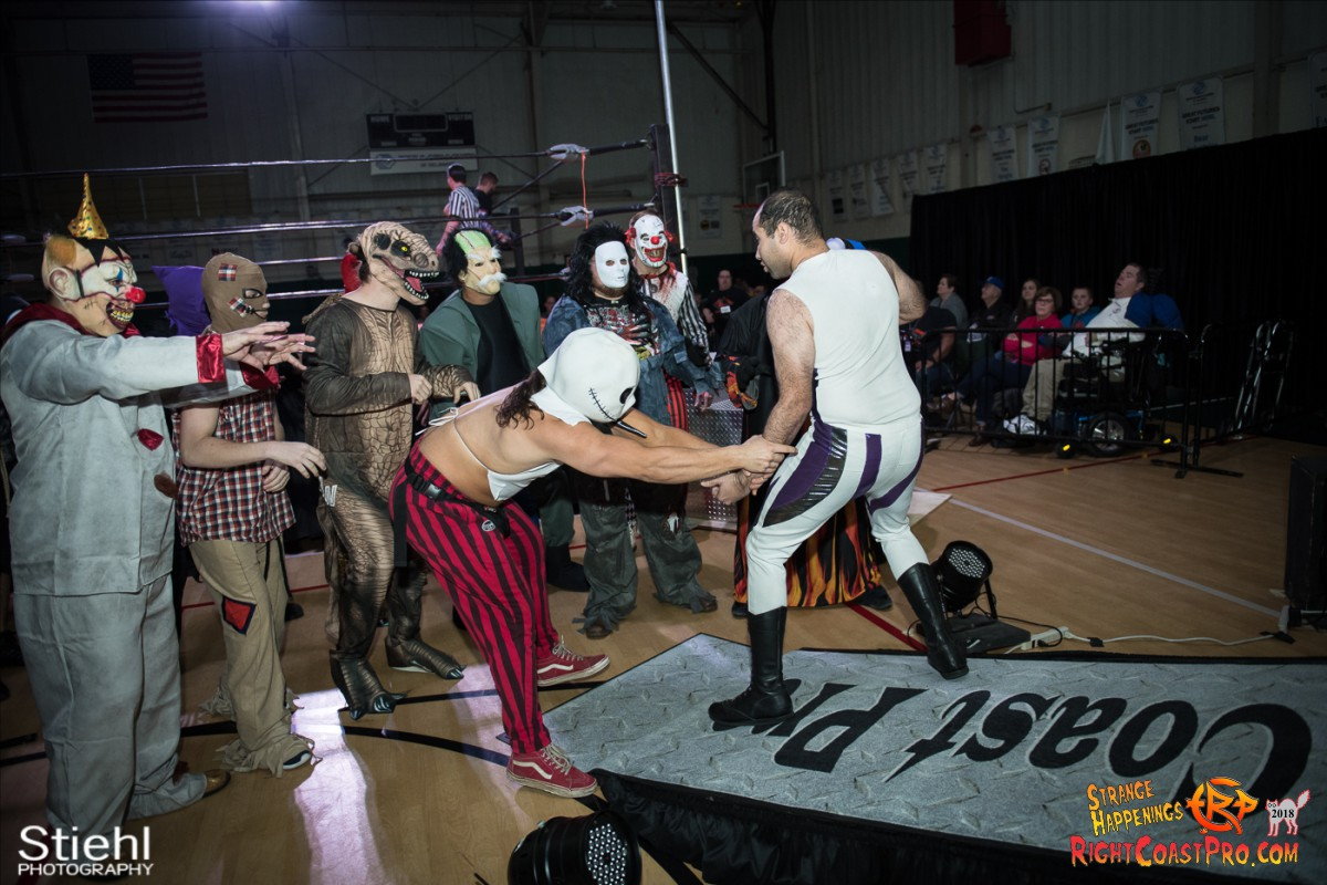 5 beat freaks RCP49 RIGHTCOASTPRO WRESTLING DELAWARE
