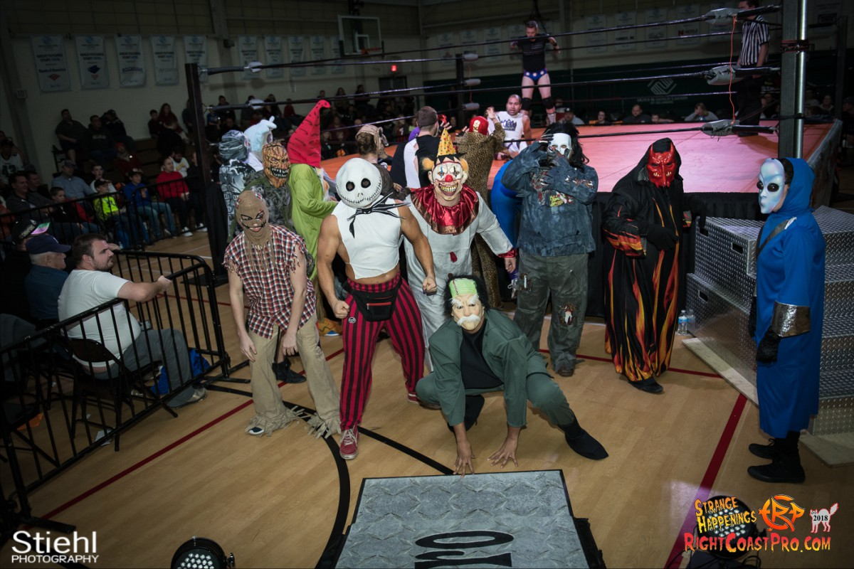 6 beat freaks RCP49 RIGHTCOASTPRO WRESTLING DELAWARE