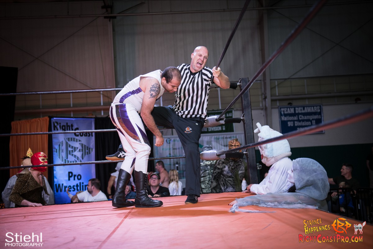 7 beat freaks RCP49 RIGHTCOASTPRO WRESTLING DELAWARE