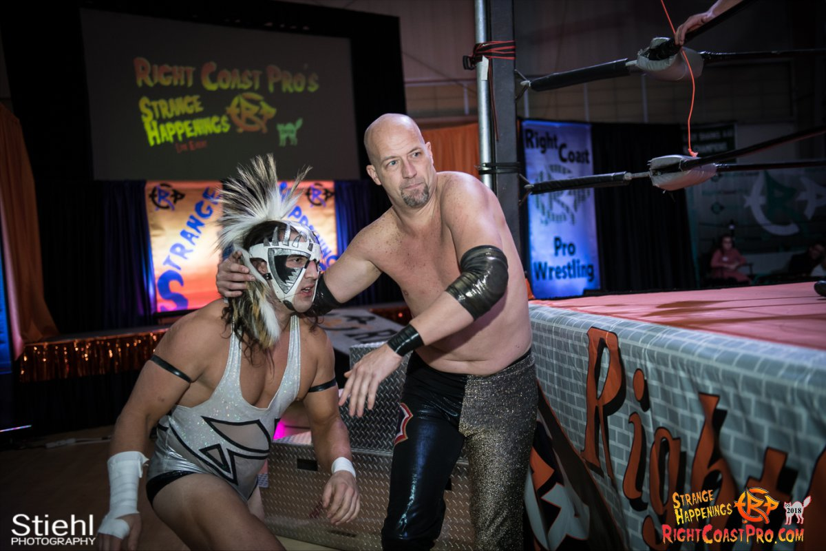 12 PoleMatch RCP49 RIGHTCOASTPRO WRESTLING DELAWARE
