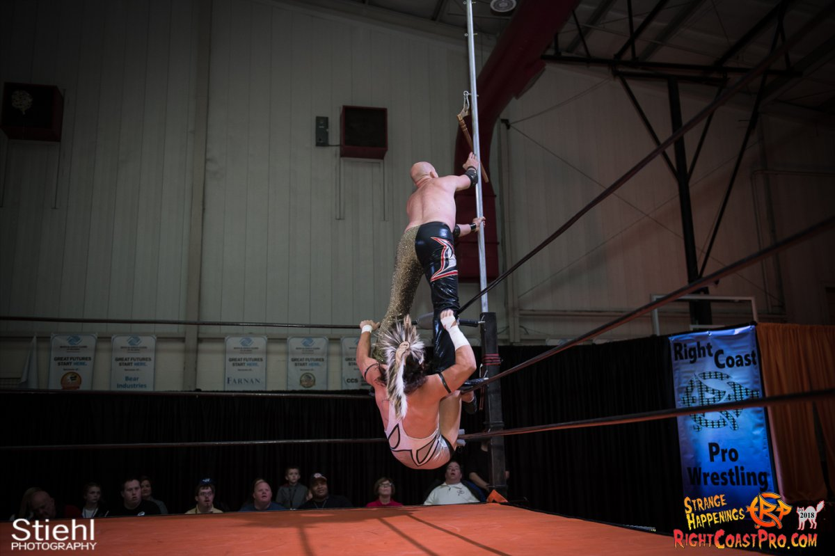 13 PoleMatch RCP49 RIGHTCOASTPRO WRESTLING DELAWARE