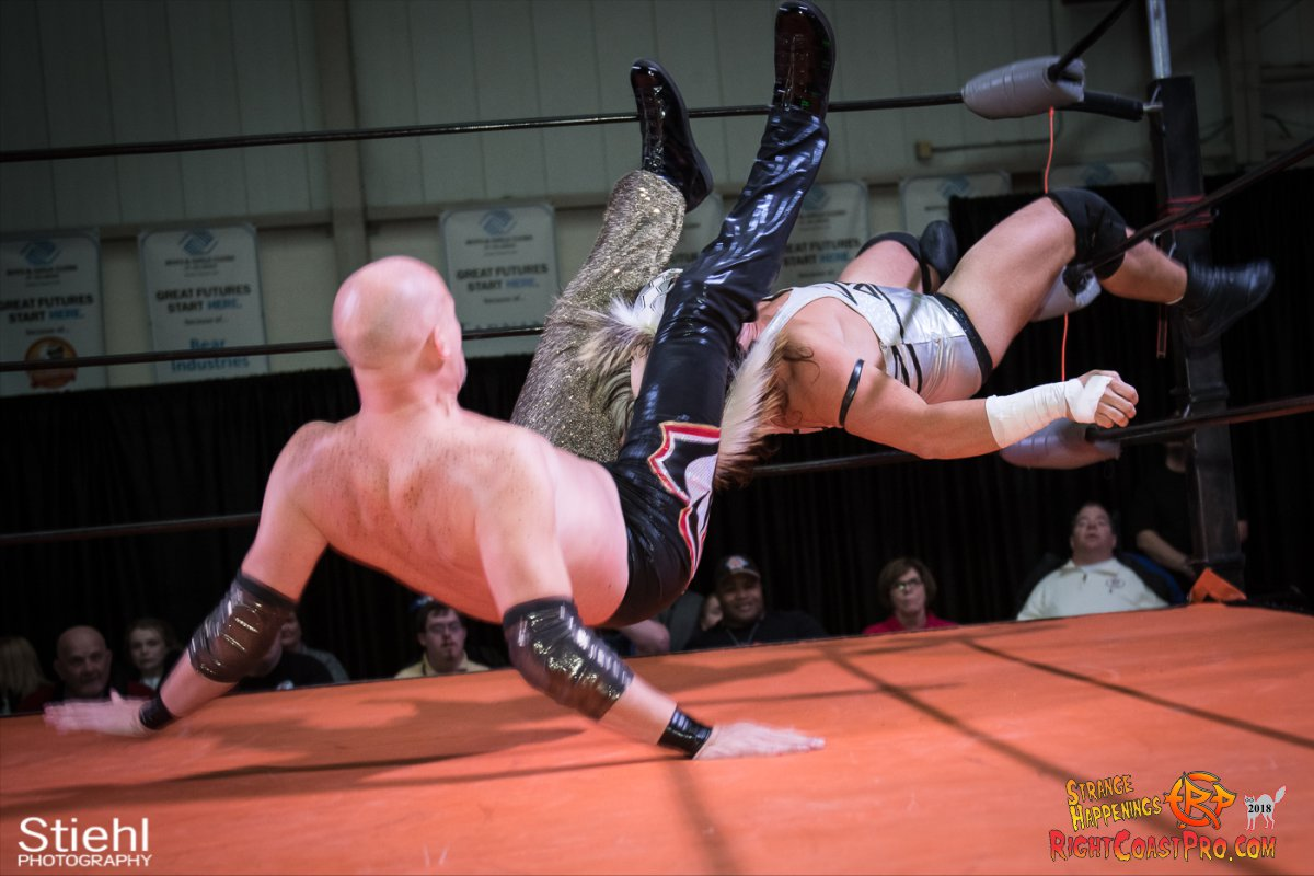 14 PoleMatch RCP49 RIGHTCOASTPRO WRESTLING DELAWARE