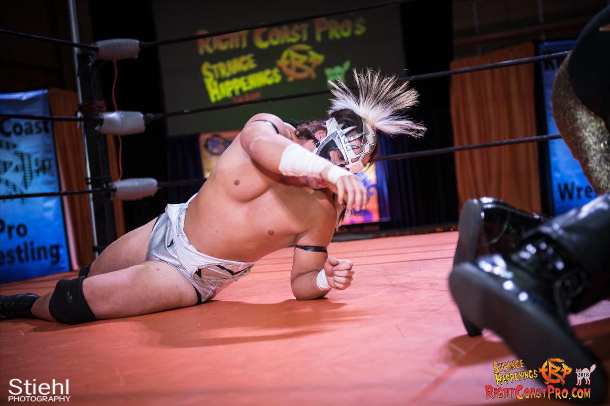15 PoleMatch RCP49 RIGHTCOASTPRO WRESTLING DELAWARE