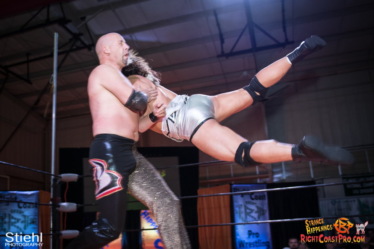 16 PoleMatch RCP49 RIGHTCOASTPRO WRESTLING DELAWARE