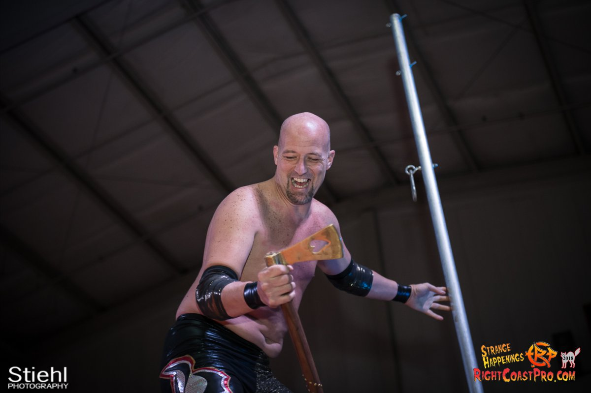 21 PoleMatch RCP49 RIGHTCOASTPRO WRESTLING DELAWARE