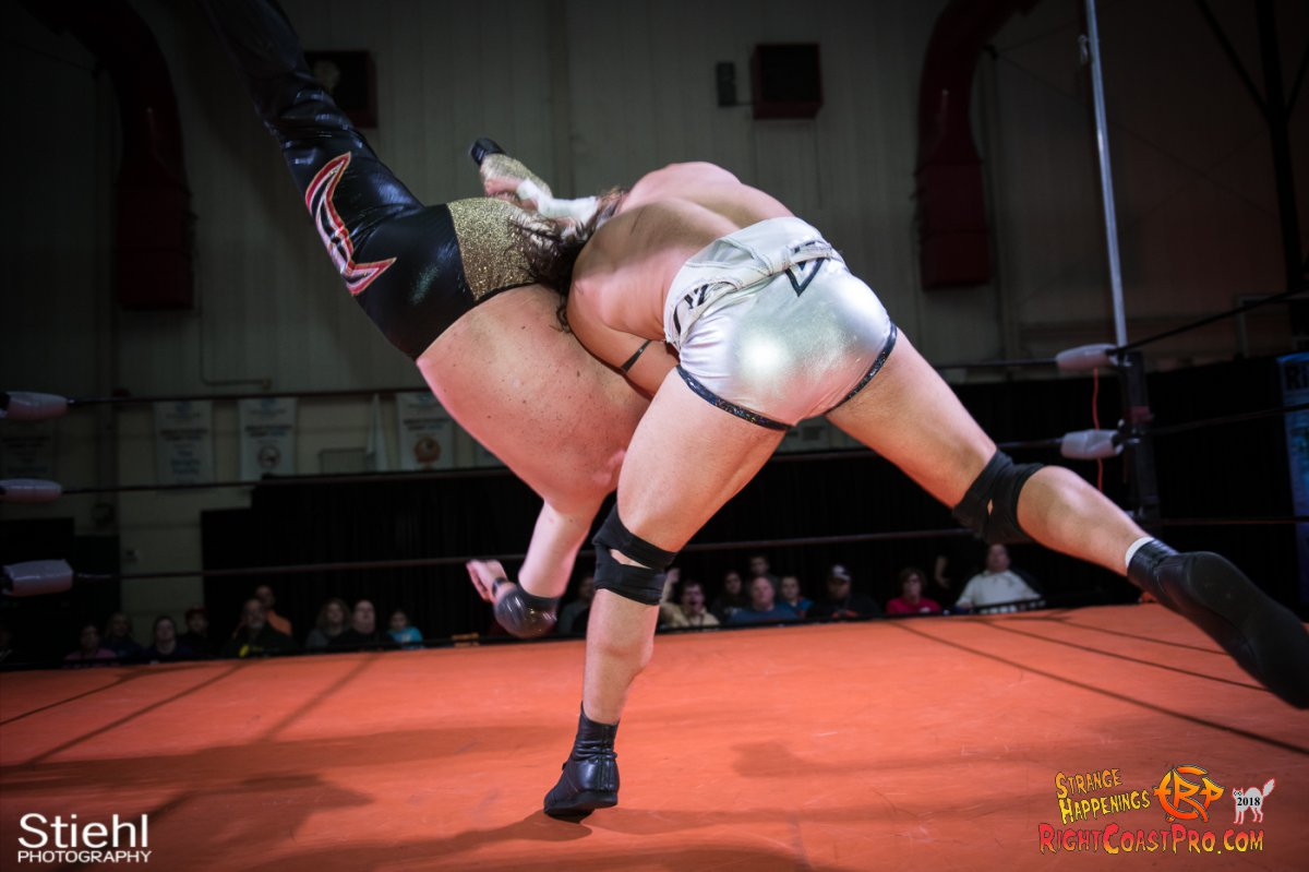 23 PoleMatch RCP49 RIGHTCOASTPRO WRESTLING DELAWARE