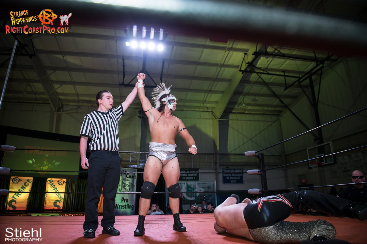 26 PoleMatch RCP49 RIGHTCOASTPRO WRESTLING DELAWARE
