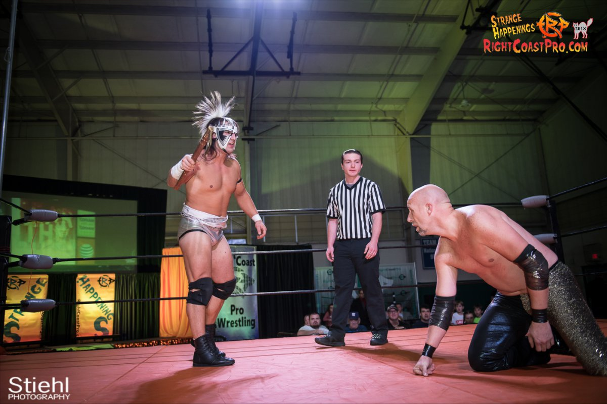 27 PoleMatch RCP49 RIGHTCOASTPRO WRESTLING DELAWARE