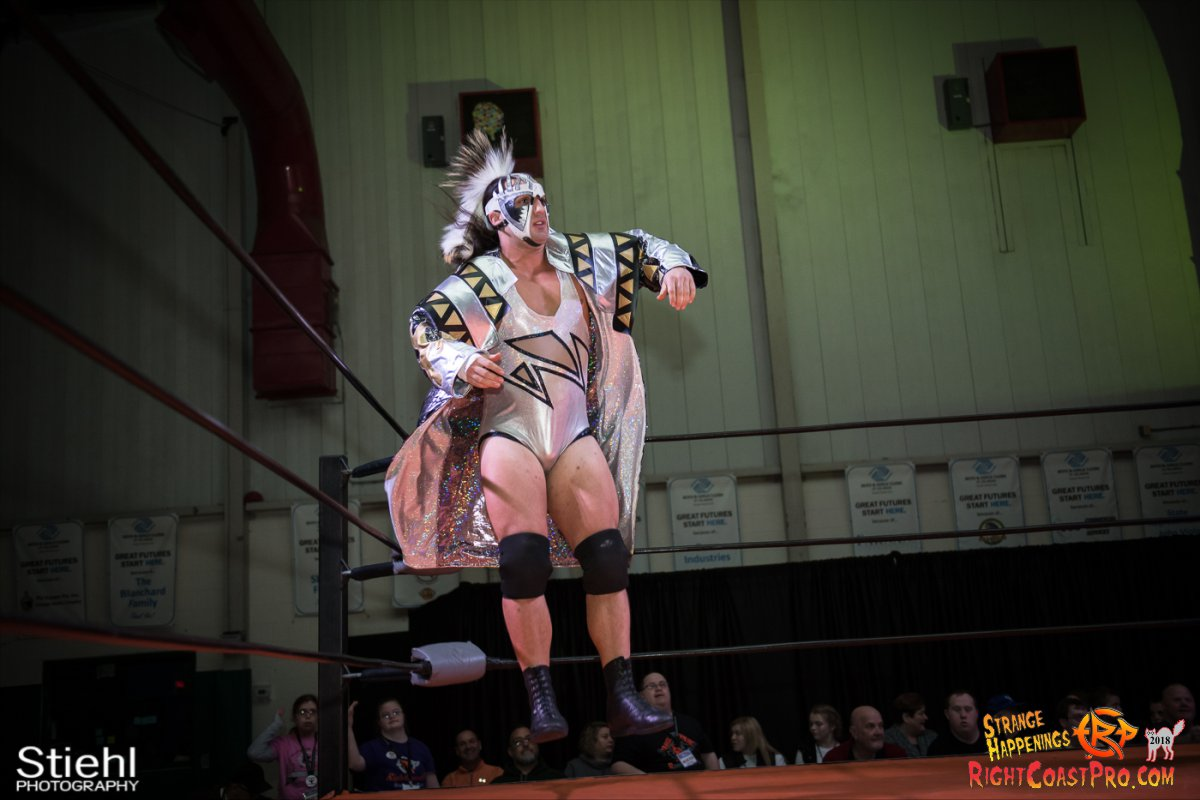 4 PoleMatch RCP49 RIGHTCOASTPRO WRESTLING DELAWARE