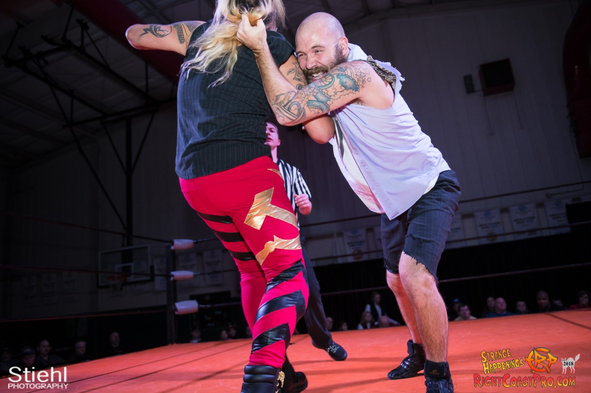 11 Hair Beard RCP49 RIGHTCOASTPRO WRESTLING DELAWARE