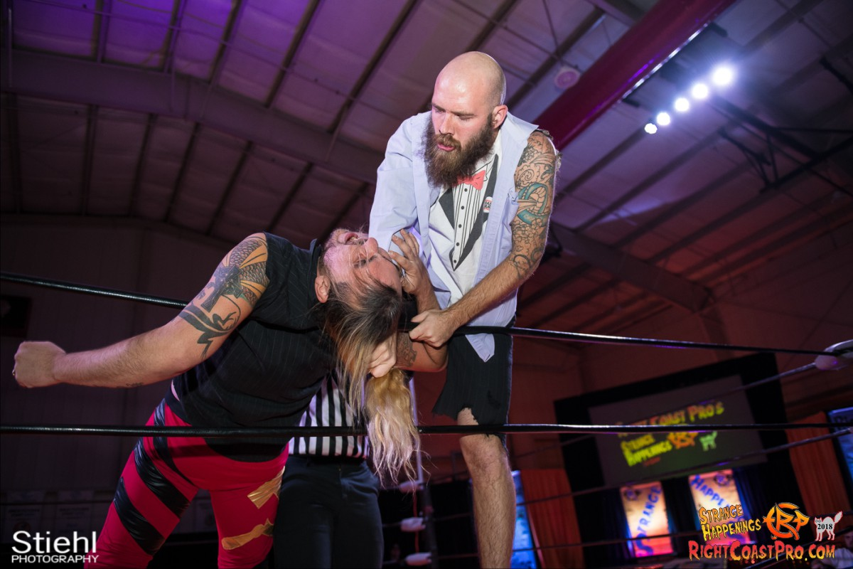 12 Hair Beard RCP49 RIGHTCOASTPRO WRESTLING DELAWARE