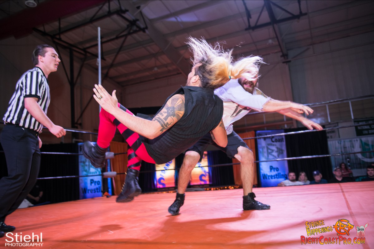 13 Hair Beard RCP49 RIGHTCOASTPRO WRESTLING DELAWARE
