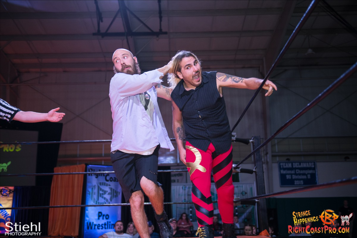14 Hair Beard RCP49 RIGHTCOASTPRO WRESTLING DELAWARE