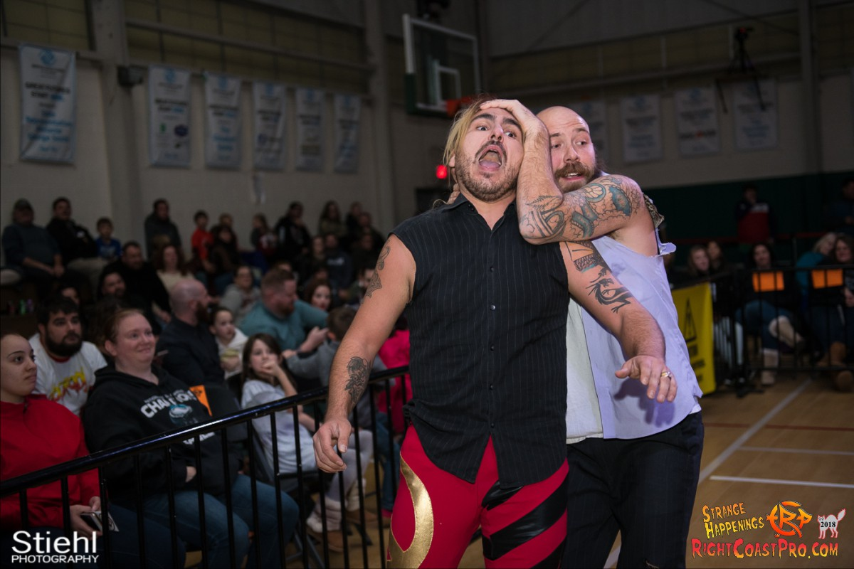 15 Hair Beard RCP49 RIGHTCOASTPRO WRESTLING DELAWARE