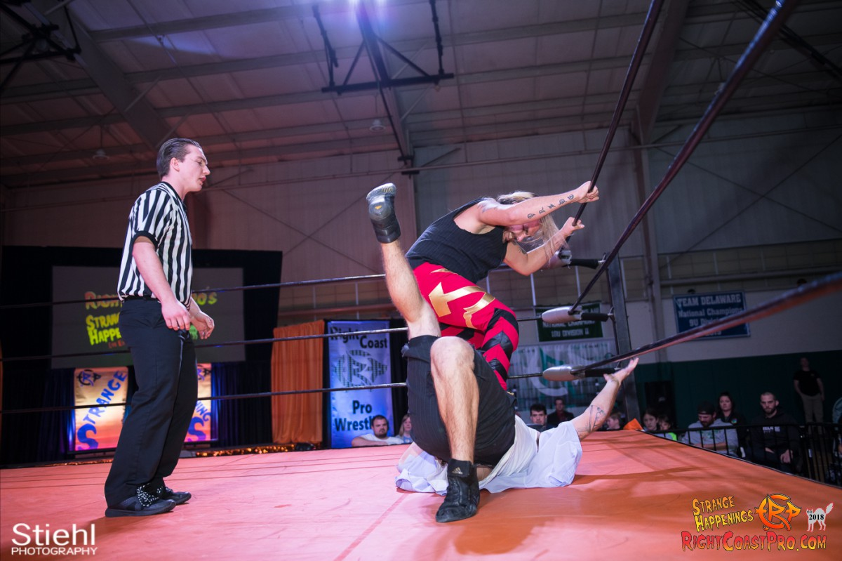16 Hair Beard RCP49 RIGHTCOASTPRO WRESTLING DELAWARE
