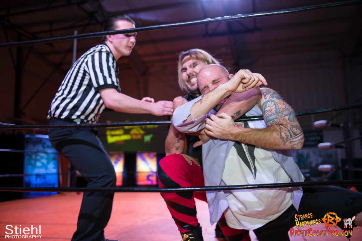 17 Hair Beard RCP49 RIGHTCOASTPRO WRESTLING DELAWARE