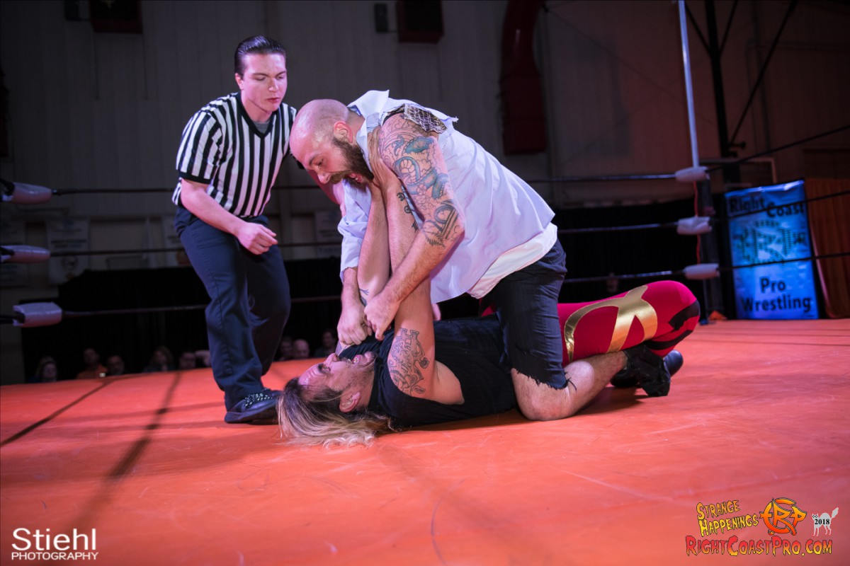 18 Hair Beard RCP49 RIGHTCOASTPRO WRESTLING DELAWARE