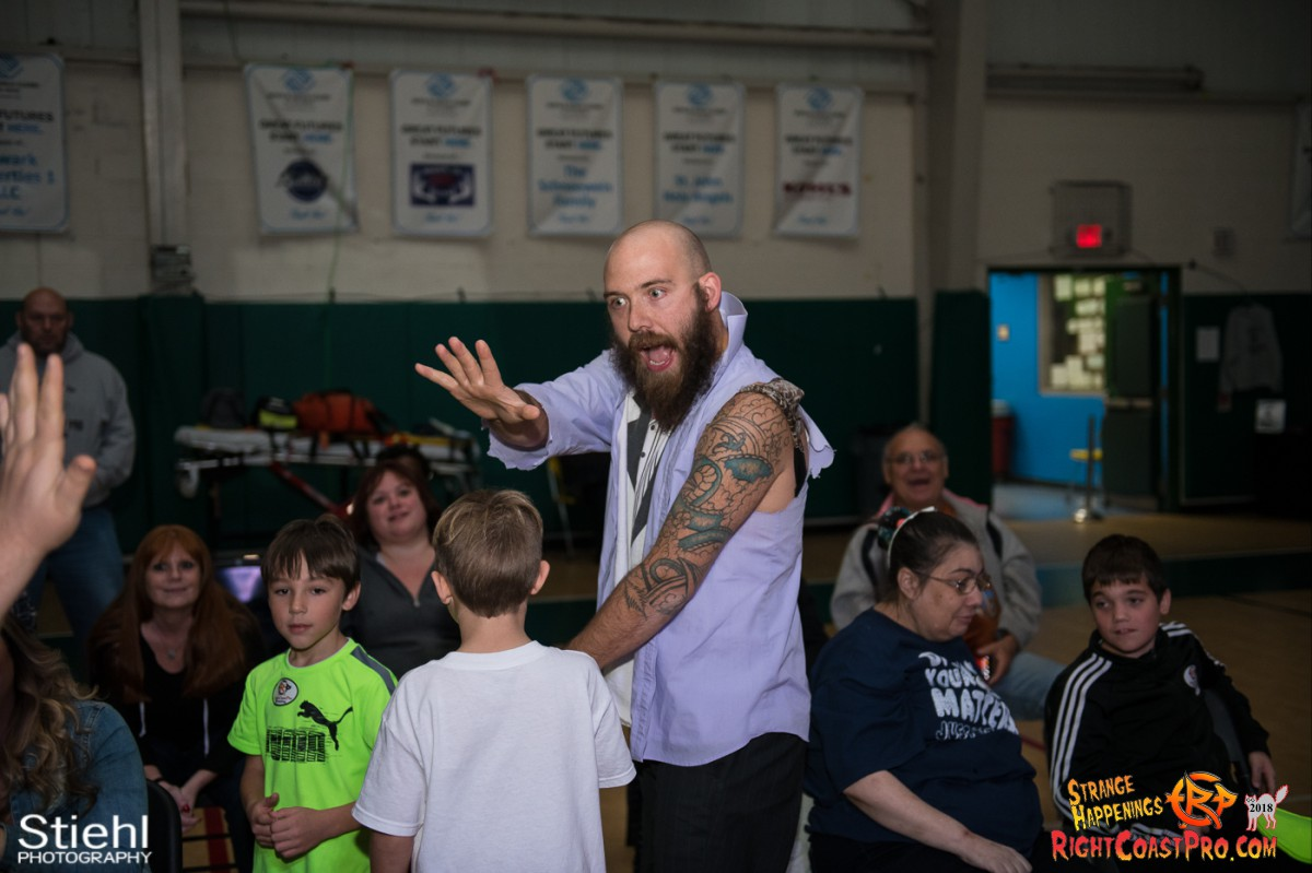 2 Hair Beard RCP49 RIGHTCOASTPRO WRESTLING DELAWARE
