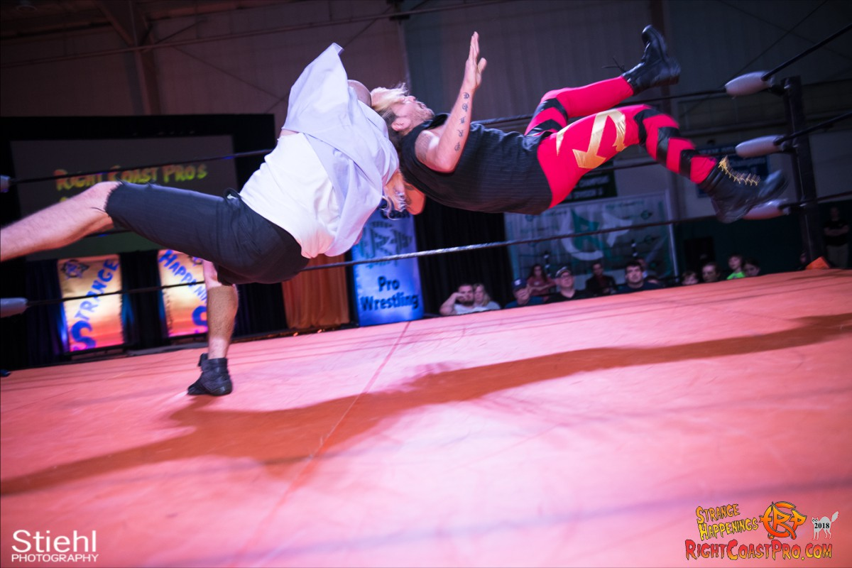 20 Hair Beard RCP49 RIGHTCOASTPRO WRESTLING DELAWARE