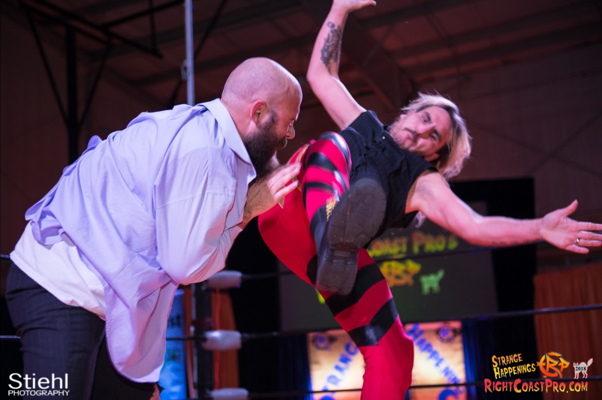 21 Hair Beard RCP49 RIGHTCOASTPRO WRESTLING DELAWARE