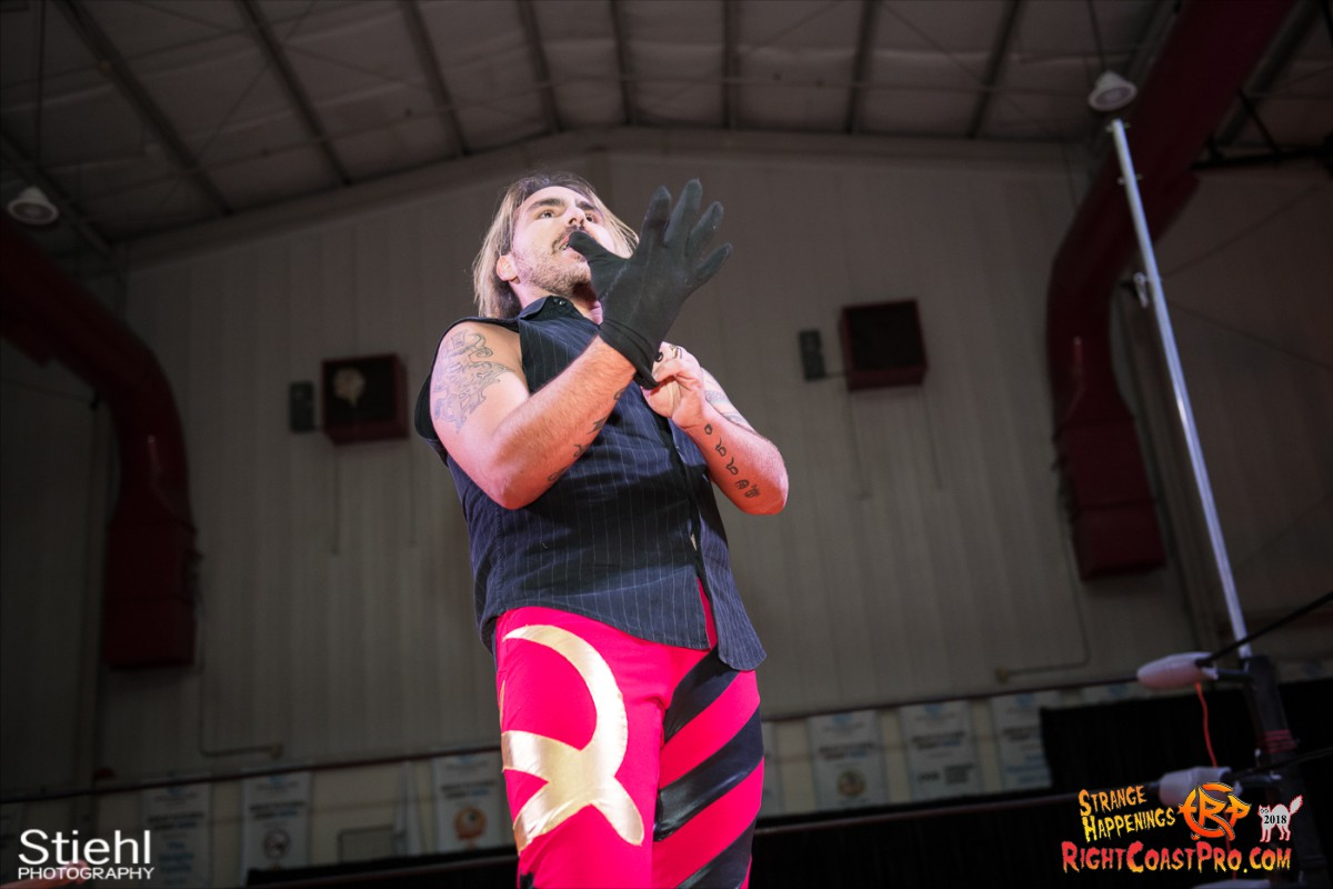 22 Hair Beard RCP49 RIGHTCOASTPRO WRESTLING DELAWARE