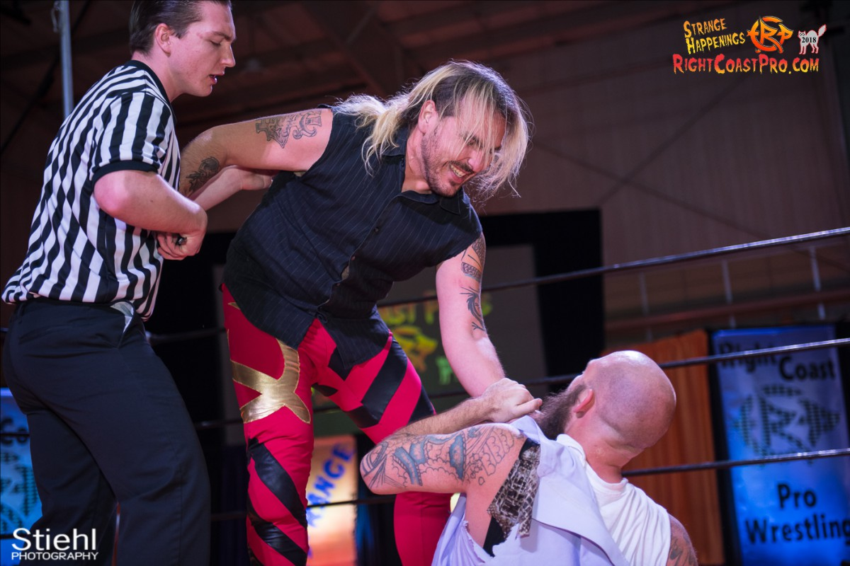 24 Hair Beard RCP49 RIGHTCOASTPRO WRESTLING DELAWARE