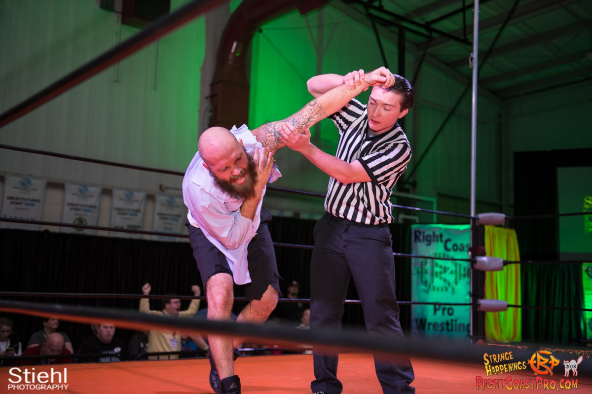 27 Hair Beard RCP49 RIGHTCOASTPRO WRESTLING DELAWARE