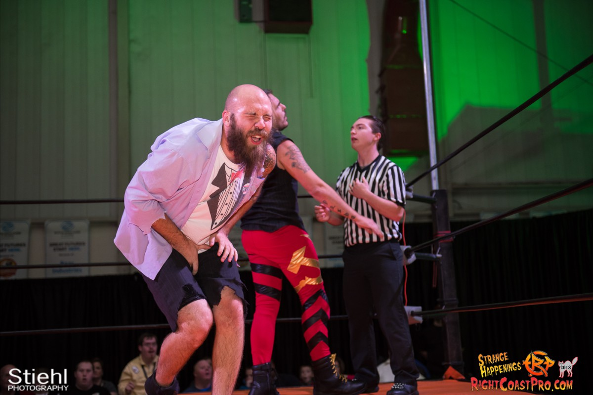 28 Hair Beard RCP49 RIGHTCOASTPRO WRESTLING DELAWARE