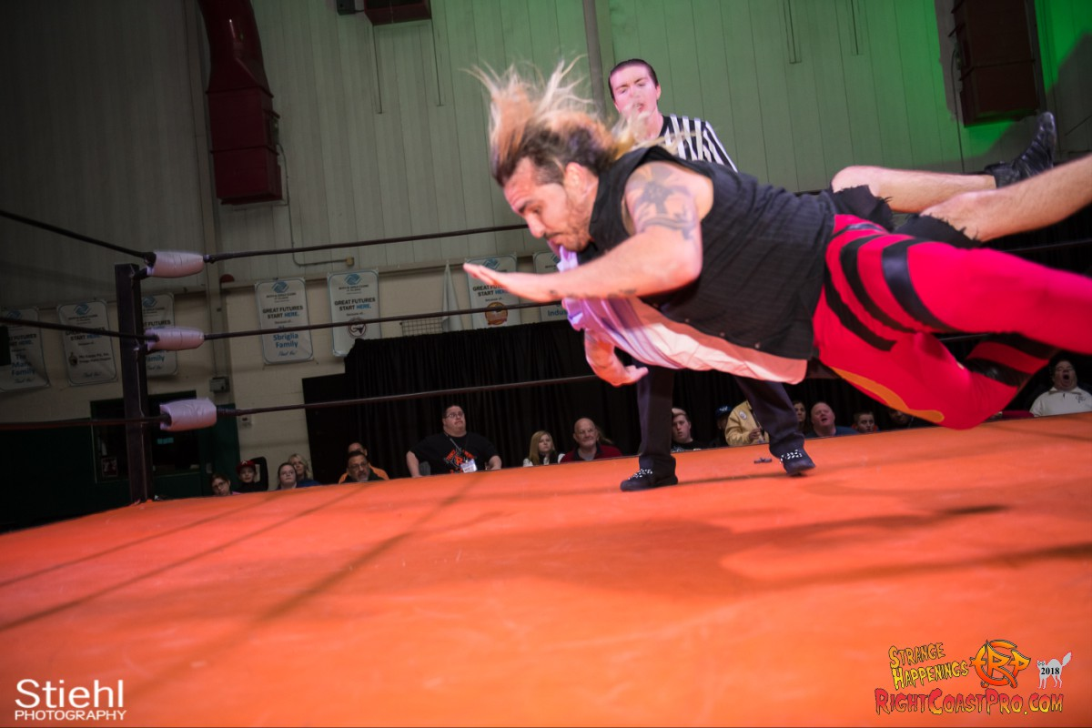 29 Hair Beard RCP49 RIGHTCOASTPRO WRESTLING DELAWARE