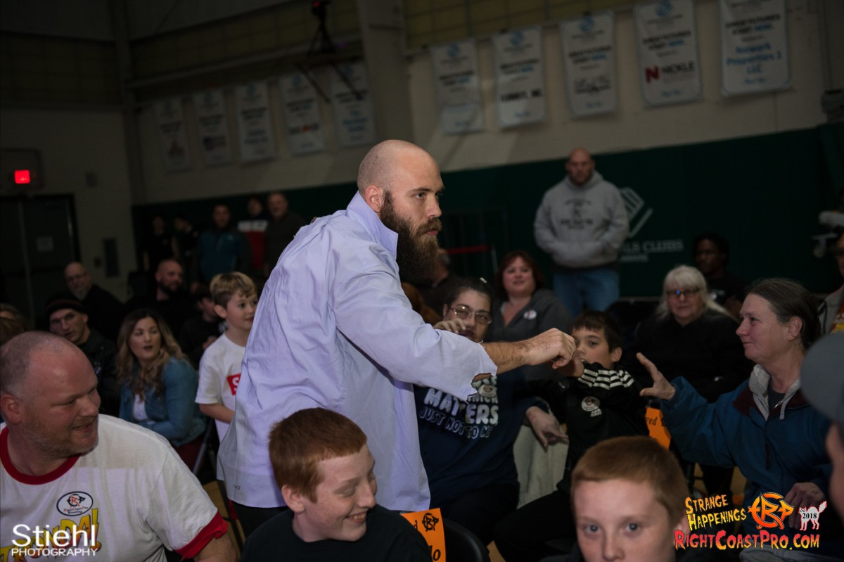 3 Hair Beard RCP49 RIGHTCOASTPRO WRESTLING DELAWARE
