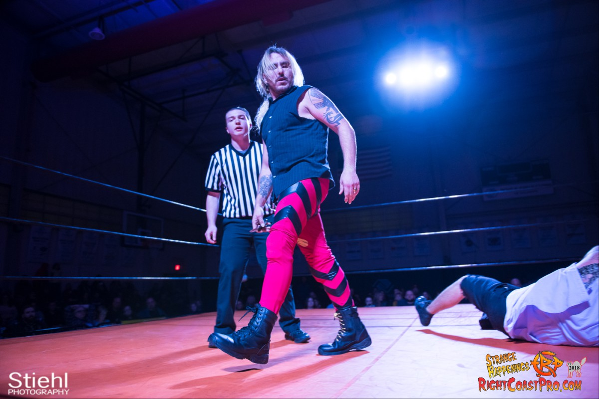 30 Hair Beard RCP49 RIGHTCOASTPRO WRESTLING DELAWARE
