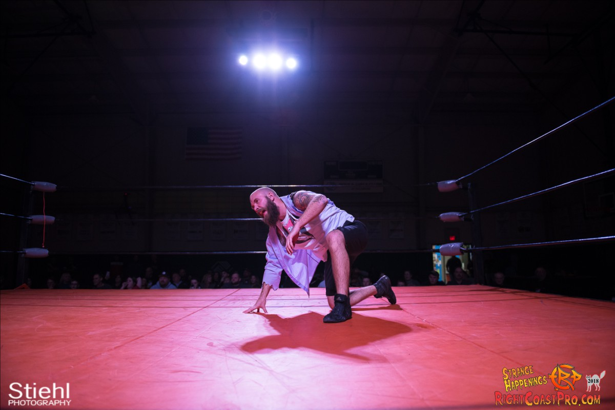 31 Hair Beard RCP49 RIGHTCOASTPRO WRESTLING DELAWARE