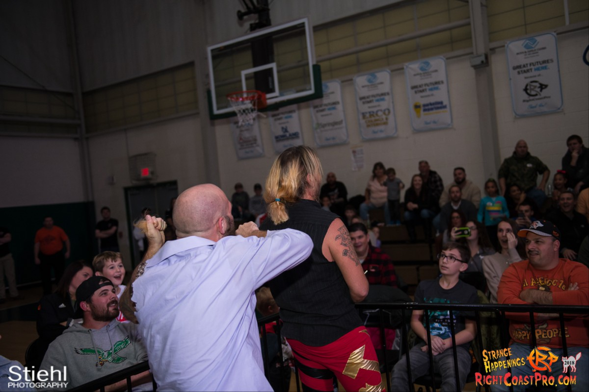 35 Hair Beard RCP49 RIGHTCOASTPRO WRESTLING DELAWARE