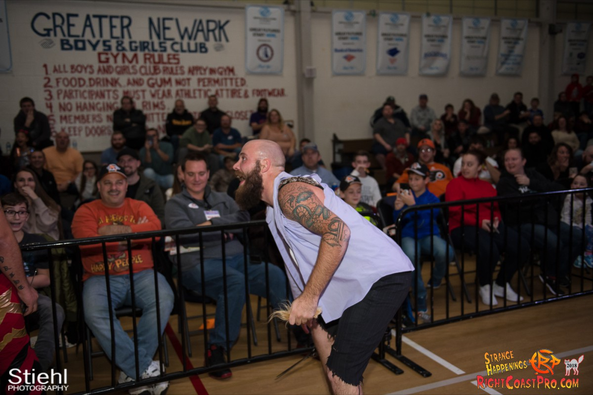 36 Hair Beard RCP49 RIGHTCOASTPRO WRESTLING DELAWARE