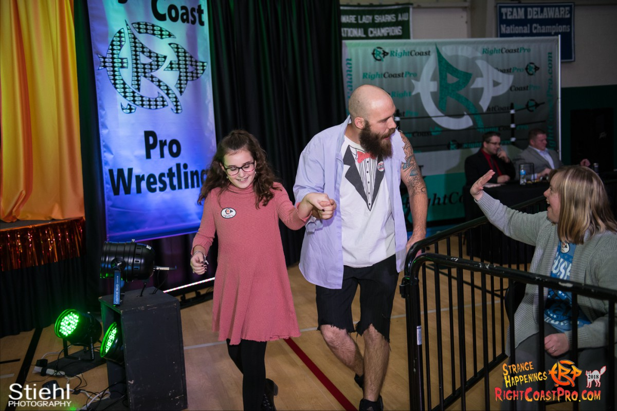 4 Hair Beard RCP49 RIGHTCOASTPRO WRESTLING DELAWARE